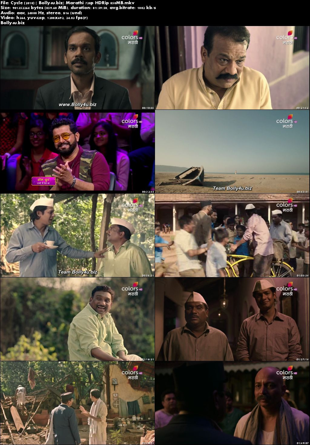 Cycle 2018 HDTV 350Mb Marathi 480p Download