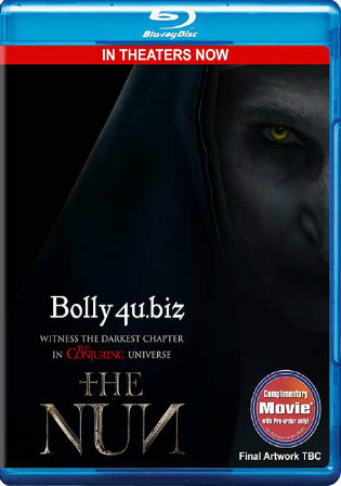 The Nun 2018 BRRip 300Mb English 480p ESub Watch Online Free Download Bolly4u