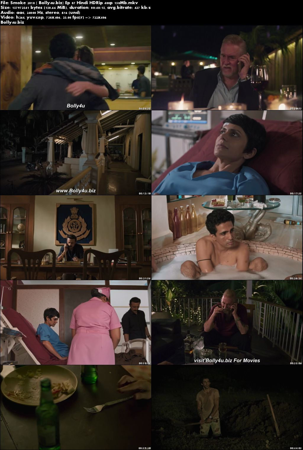 Smoke 2018 HDRip 150MB Episode 07 Hindi 480p Download