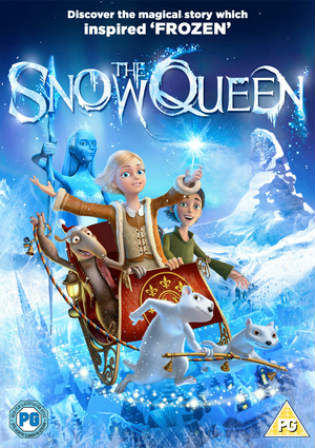 Snow Queen 2012 BRRip 250Mb Hindi Dual Audio 480p Watch Online Full Movie Download bolly4u