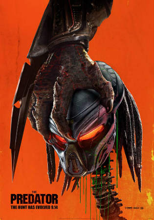 The Predator 2018 WEB-DL 900Mb English 720p ESub Watch Online Free Download bolly4u