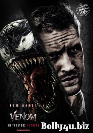 Venom 2018 WEB-DL 900MB Hindi Dual Audio 720p ESub