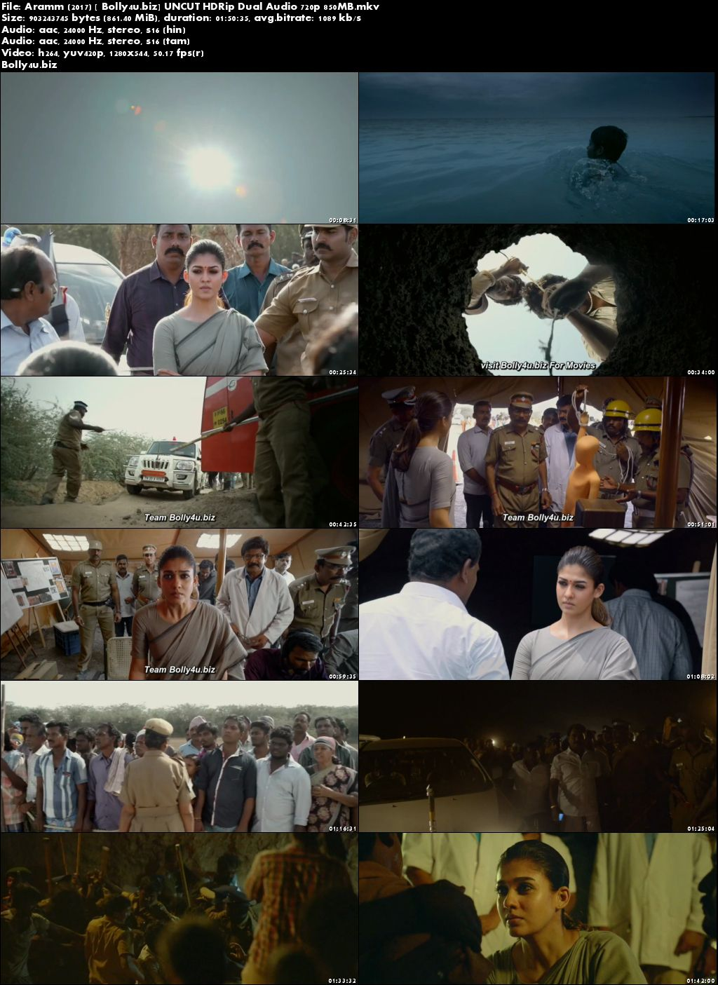 Aramm 2017 HDRip UNCUT 850MB Hindi Dual Audio 720p Download
