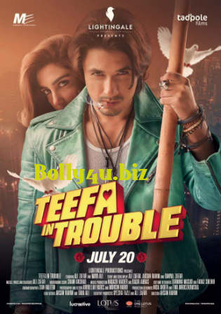 Teefa In Trouble 2018 WEBRip 450MB Full Urdu Movie Download 480p