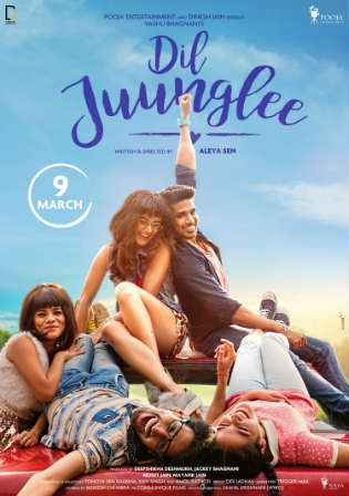 Dil Juunglee 2018 HDRip 350Mb Full Hindi Movie Download 480p