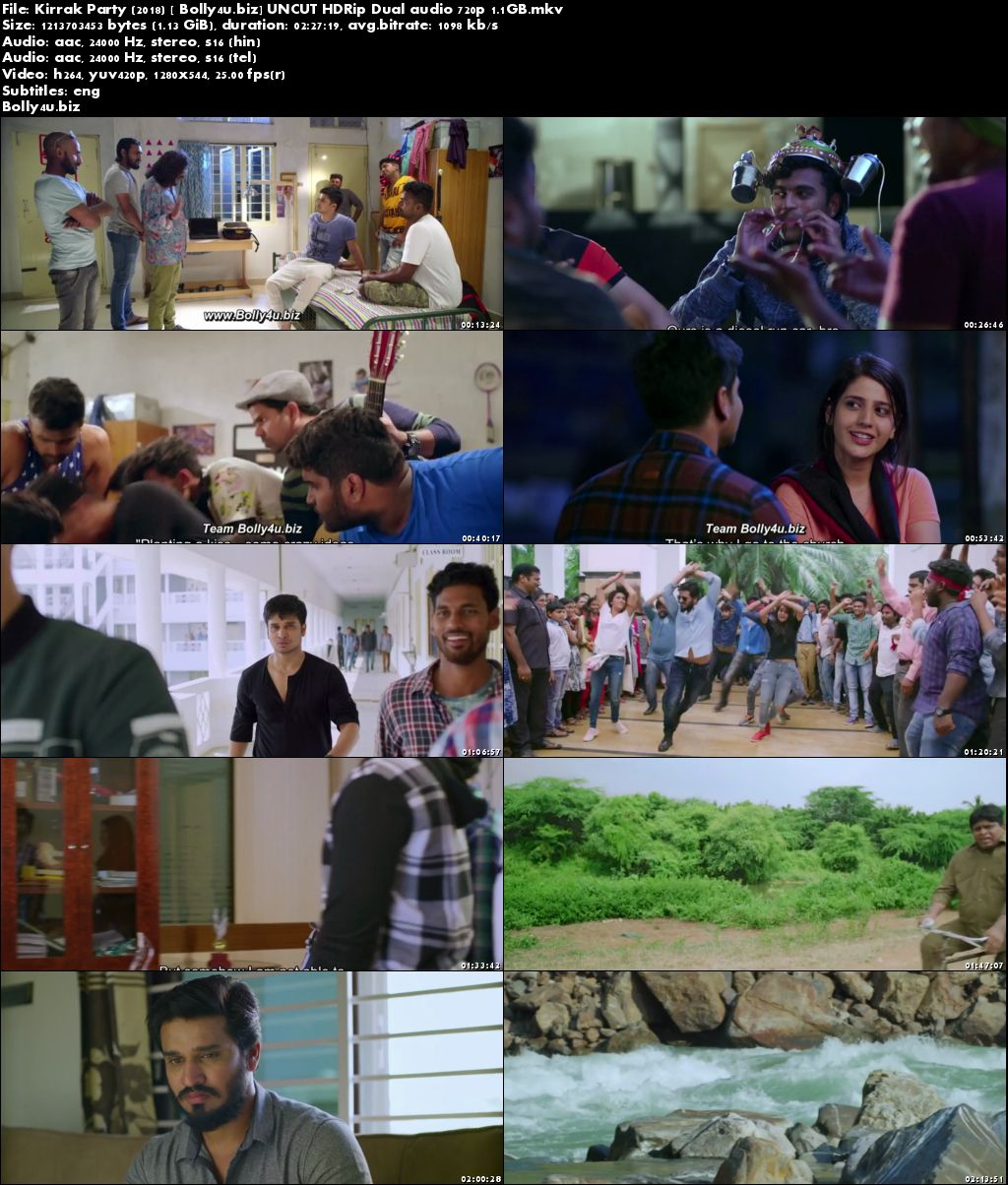 Kirrak Party 2018 HDRip UNCUT Hindi Dual Audio 720p Download
