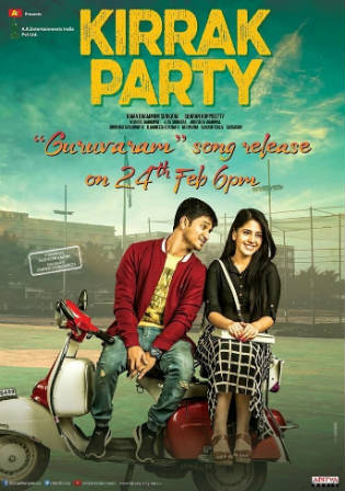 Kirrak Party 2018 HDRip 450MB UNCUT Hindi Dual Audio 480p
