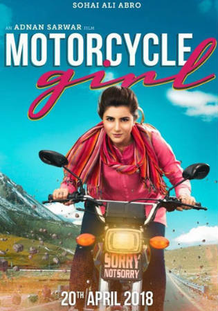 Motorcycle Girl 2018 HDRip 650MB Urdu 720p