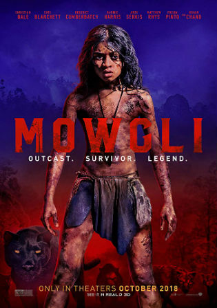 Mowgli Legend of The Jungle 2018 WEB-DL 999Mb Hindi Dual Audio 720p Watch Online Full Movie Download bolly4u