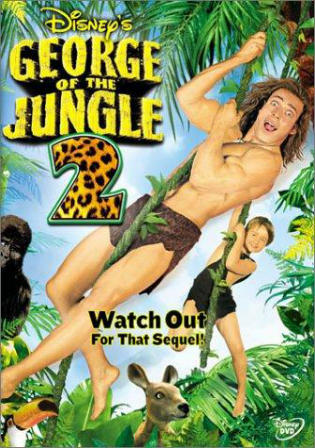 George Of The Jungle 2 2003 BRRip 500Mb Hindi Dual Audio 720p Watch Online Full Movie Download bolly4u
