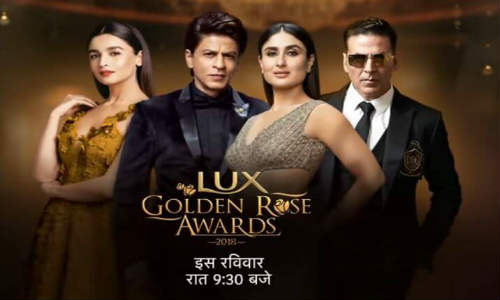 Lux Golden Rose Awards 2018 HDTV 350MB Main Event 480p Watch Online Free Download bolly4u
