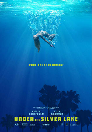 Under The Silver Lake 2018 WEB-DL 400MB English 480p Watch Online Full Movie Download bolly4u