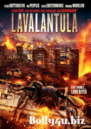 Lavalantula 2015 BluRay 650Mb Hindi Dual Audio 720p