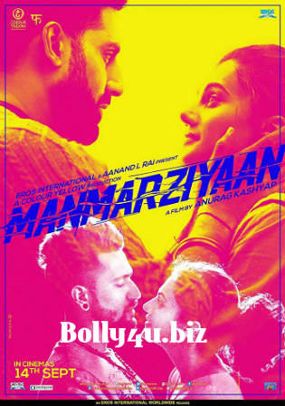 Manmarziyaan 2018 HDRip 450MB Full Hindi Movie Download 480p