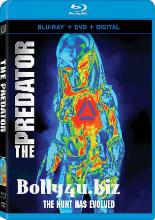 The Predator 2018 BluRay 850MB Hindi Dual Audio ORG 720p