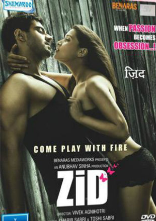 Zid 2014 HDRip 350MB Full Hindi Movie Download 480p