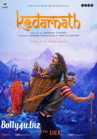 Kedarnath 2018 Pre DVDRip 300Mb Full Hindi Movie Download 480p