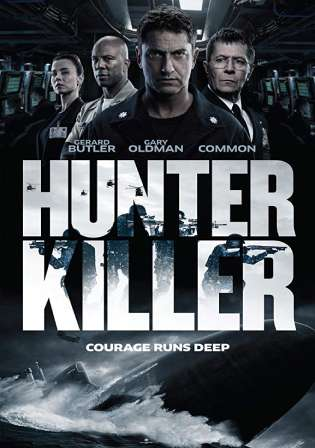 Hunter Killer 2018 HC HDRip 950Mb English 720p Watch Online Full Movie Download bolly4u
