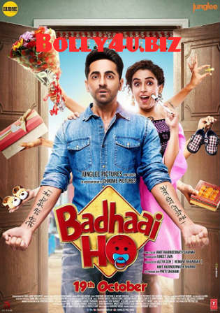 Badhaai Ho 2018 HDRip 350Mb Full Hindi Movie Download 480p