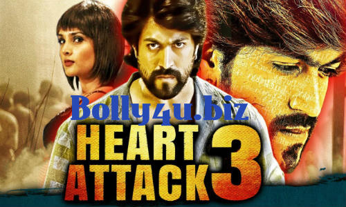 Heart Attack 3 2018 HDRip 350Mb Full Hindi Dubbed Movie Download 480p Watch Online free bolly4u
