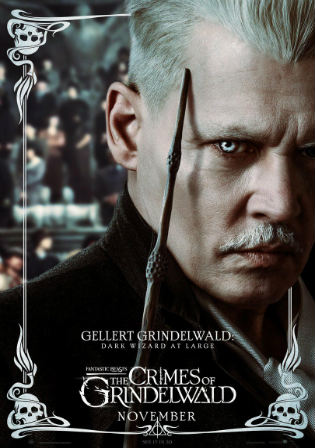 Fantastic Beasts The Crimes of Grindelwald 2018 HC HDRip 1GB Hindi Dual Audio 720p Watch Online Full Movie Download bolly4u