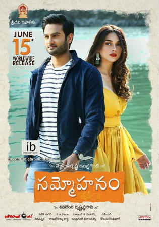 Sammohanam 2018 HDTV 350MB Hindi Dubbed 480p Watch Online Full Movie Download Bolly4u