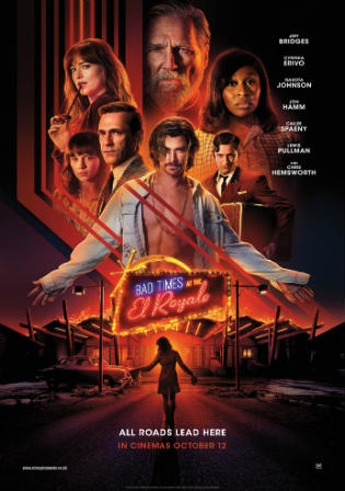 Bad Times at the El Royale 2018 WEB-DL 350Mb English 480p ESub Watch Online Full Movie Download bolly4u