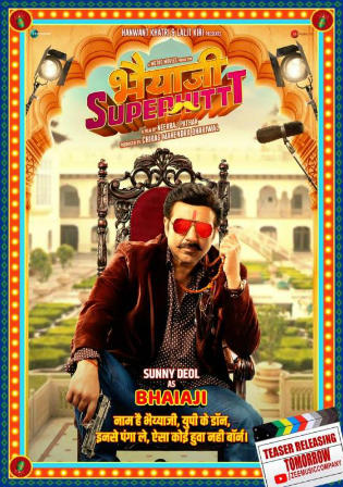 Bhaiaji Superhit 2018 HDRip 900Mb Full Hindi Movie Download 720p Watch Online Free Bolly4u
