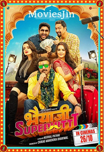 Bhaiaji Superhit 2018 HDRip Free Download Hindi Movie 720p