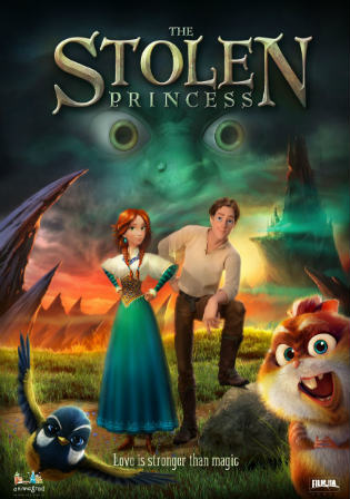 The Stolen Princess 2018 HDRip 800Mb Hindi Dual Audio ORG 720p