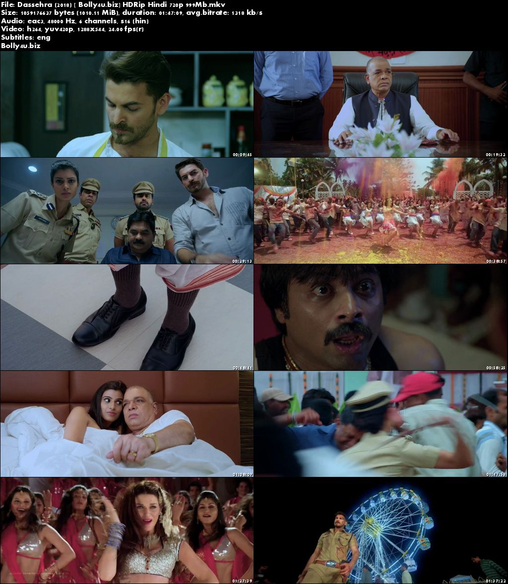 Dassehra 2018 HDRip 300Mb Full Hindi Movie Download 480p