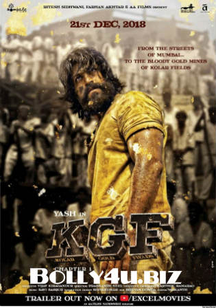 K.G.F Chapter 1 2018 Pre DVDRip 1GB Full Hindi Movie Download 720p