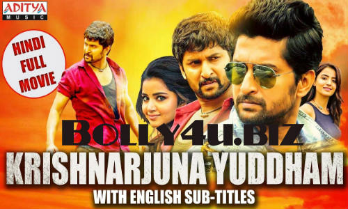 Krishnarjuna Yuddham 2018 HDRip 950MB Hindi Dubbed 720p