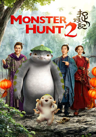 Monster Hunt 2 2018 BluRay 350MB Hindi Dubbed Dual Audio 480p ESub Watch Online Full Movie Download Bolly4u