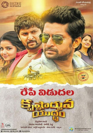 Krishnarjuna Yudham 2018 HDRip UNCUT Hindi Dual Audio 720p Watch Online Full Movie Download bolly4u