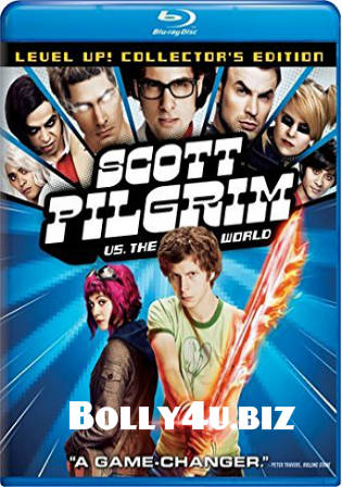 Scott Pilgrim vs The World 2010 BRRip 1GB Hindi Dual Audio 720p Watch Online Full Movie Download bolly4u