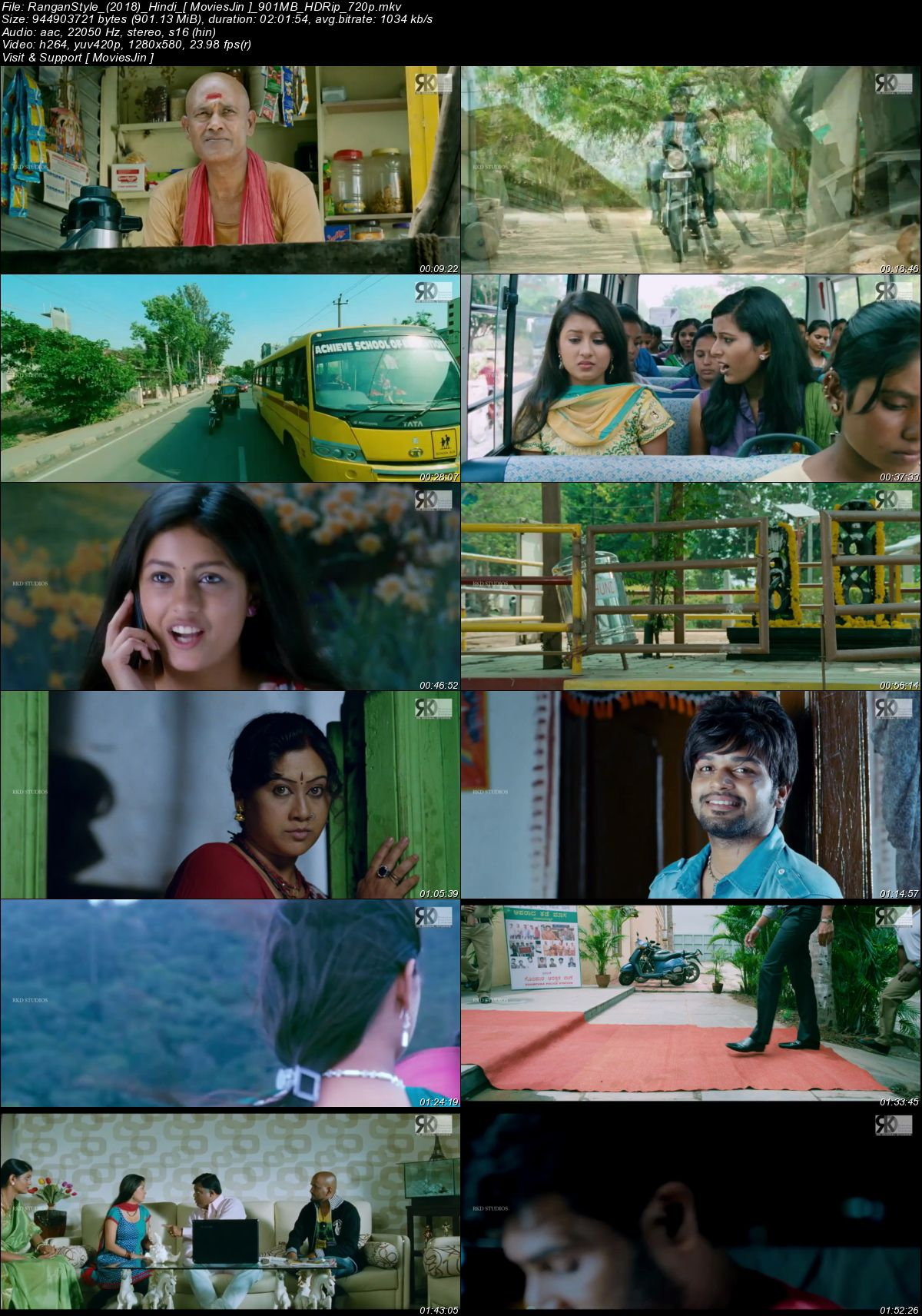 Watch Online Rangan Style 2018 300MB Movie Download Hindi Dubbed HDRip 480p Full Movie Download 300mbmovies