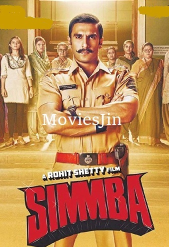Simmba 2018 Movie Download Pre DVDRip x264 900MB