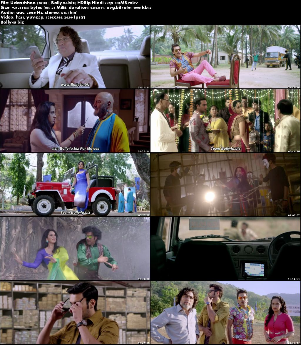Udanchhoo 2018 HDRip 850Mb Full Hindi Movie Download 720p