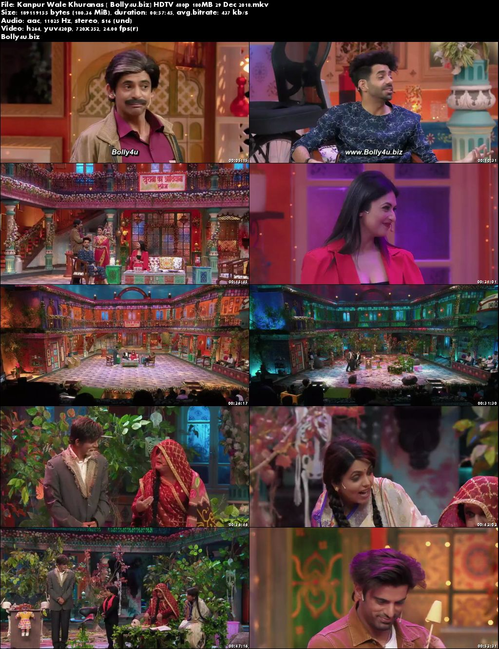 Kanpur Wale Khuranas HDTV 480p 180MB 29 Dec 2018 Download