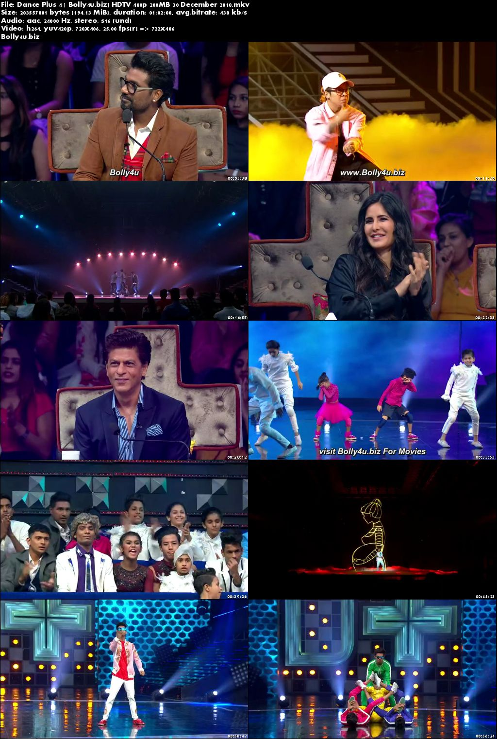 Dance Plus Season 4 HDTV 480p 200MB 30 December 2018 Download