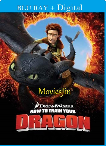 How To Train Your Dragon 2010 300MB Movie Hindi BRRip Dual Audio 480p