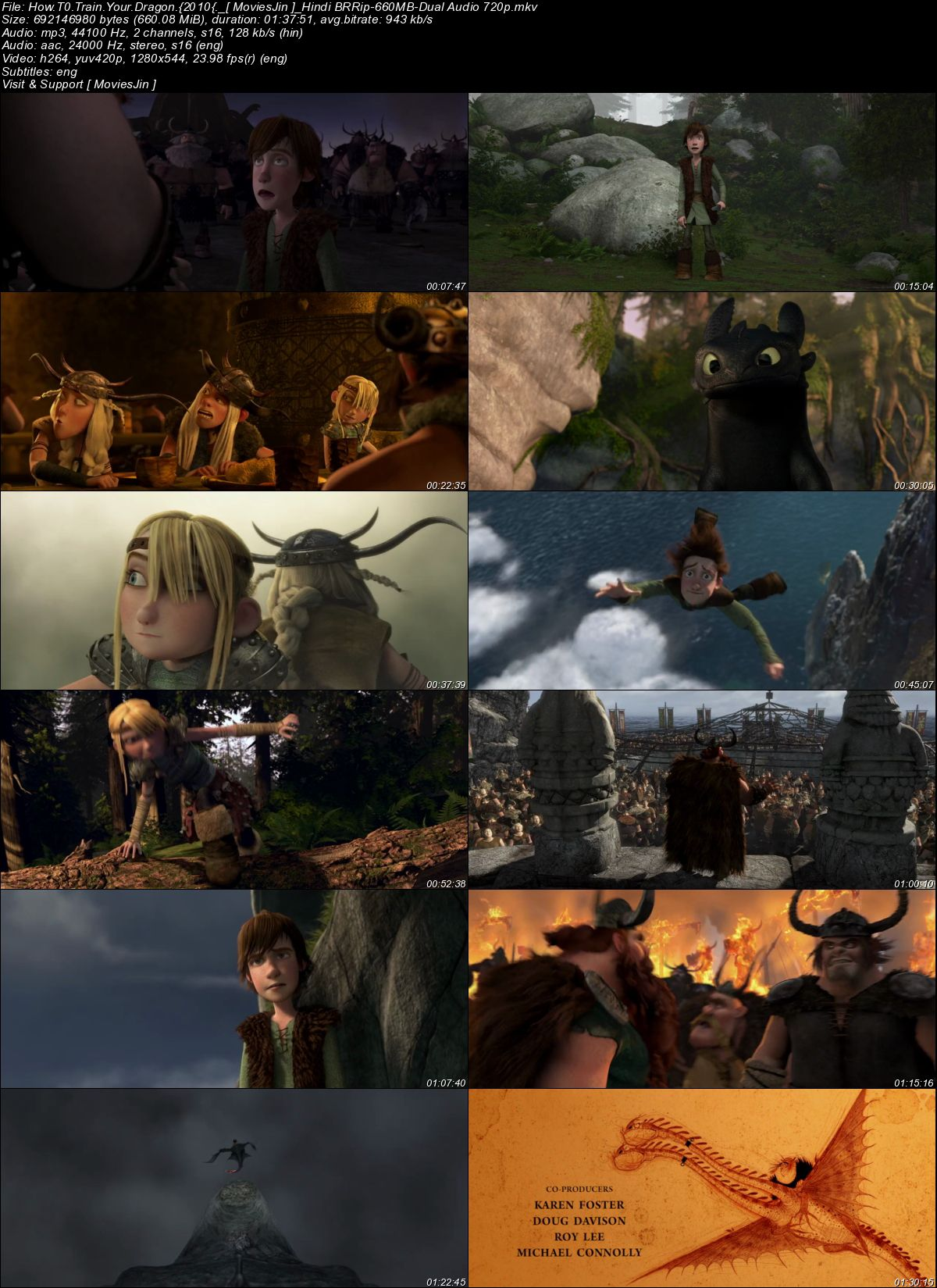 Watch Online How To Train Your Dragon 2010 300MB Movie Hindi BRRip Dual Audio 480p Full Movie Download 300mbmovies