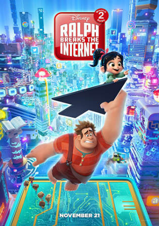 Ralph Breaks The Internet 2018 DVDScr 350Mb Hindi Dual Audio 480p Watch Online Full Movie Download bolly4u