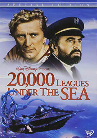 20000 Leagues Under The Sea 1954 BRRip 400MB Hindi Dual Audio 480p Watch Online Full Movie Download bolly4u