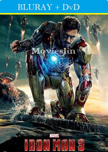 Iron Man 3 2013 Movie BluRay Download Hindi 1GB Dual Audio 720p