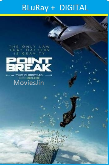 Point Break 2015 300MB BluRay Movie Hindi ORG Dual Audio Esubs 480p