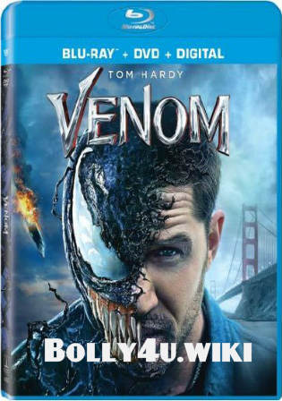 Venom 2018 BluRay Hindi Dubbed Dual Audio ORG 720p ESub Watch Online Full Movie Download bolly4u