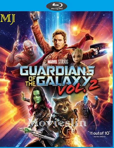 Guardians Of The Galaxy Vol 2 2017 300MB BluRay Hindi ORG Dual Audio 480p