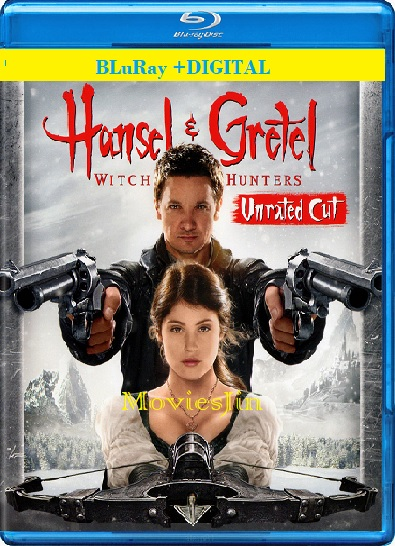Watch Online Hansel and Gretel Witch Hunters 2013 300MB Hindi BRRip Dual Audio UNRATED 480p Full Movie Download 300mb Movies